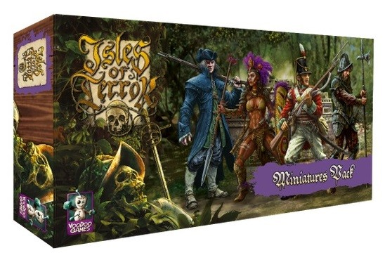 Isles of Terror – Miniatures Pack