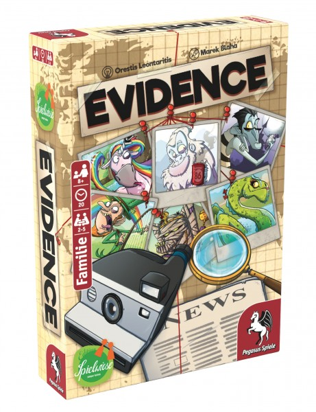 Evidence (Edition Spielwiese)