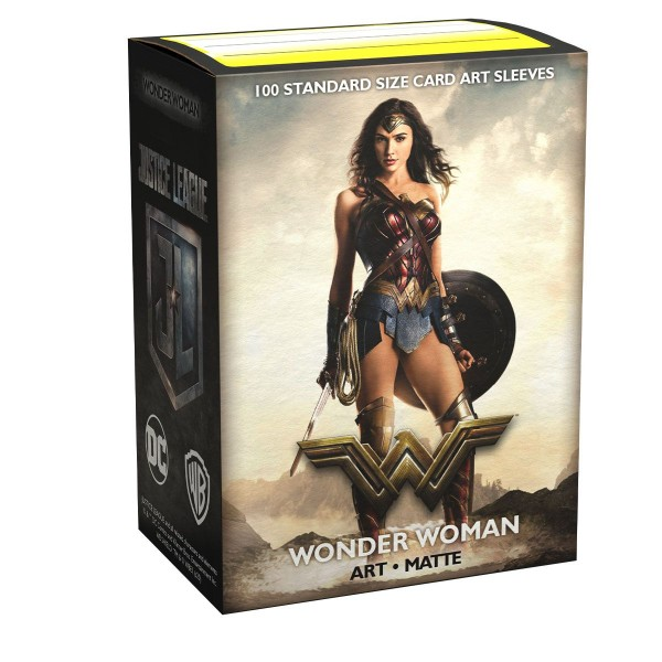 Dragon Shield: Matte Art - Justice League - Wonder Woman (100)