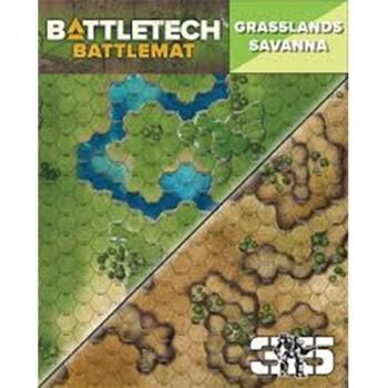 BattleTech: Battle Mat Grasslands/Savanna