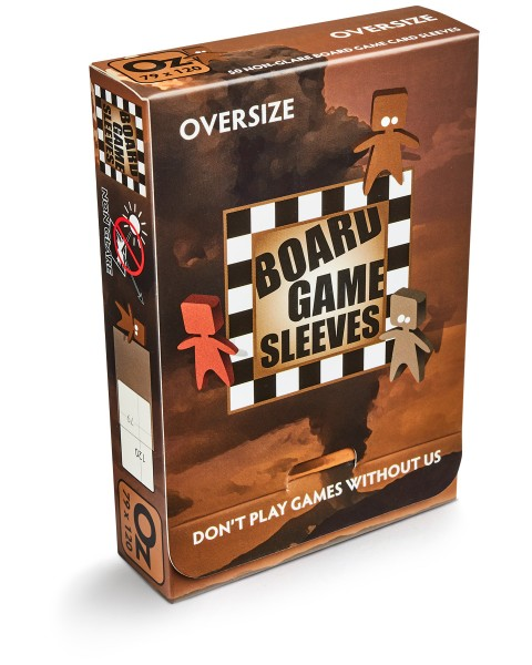 Board Game Sleeves: Oversize – non glare (50)