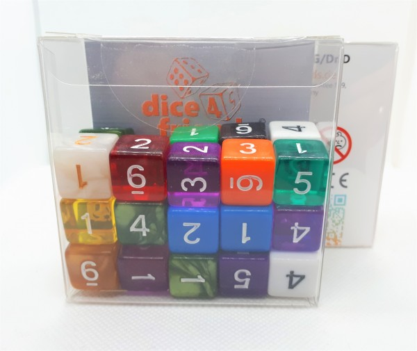 Würfelset D6 Mix-Set (30)