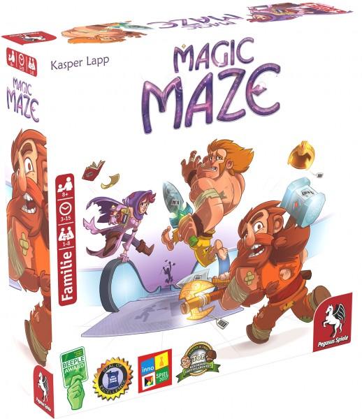 Magic Maze (deutsche Ausgabe) ***Nominiert Spiel des Jahres 2017***