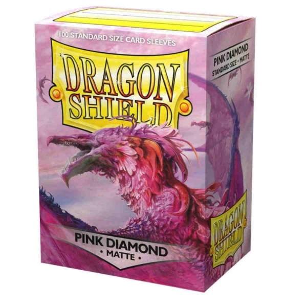 Dragon Shield: Matte – Pink Diamond (100)