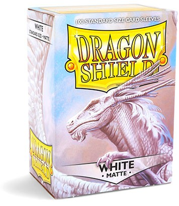 Dragon Shield: Matte – White (100)