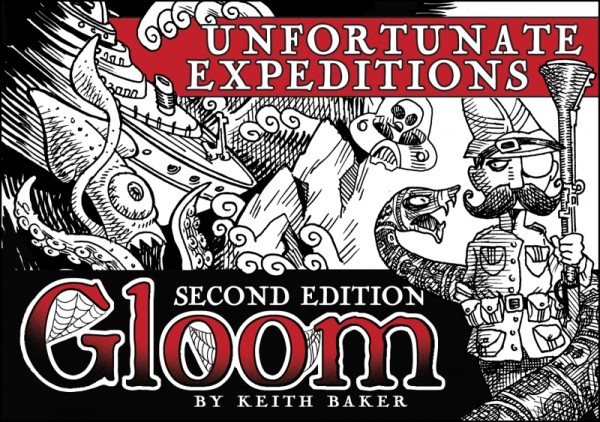 Gloom: Unfortunate Expeditions, 2nd Edition