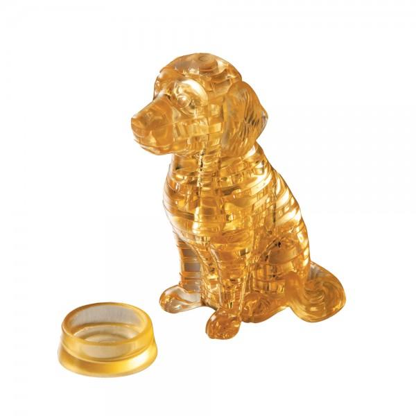 Crystal Puzzle: Golden Retriever
