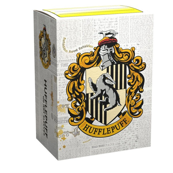 Dragon Shield: Matte Art – WizardingWorld – Hufflepuff (100)