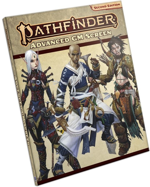 Pathfinder 2.0 Advanced GM Screen