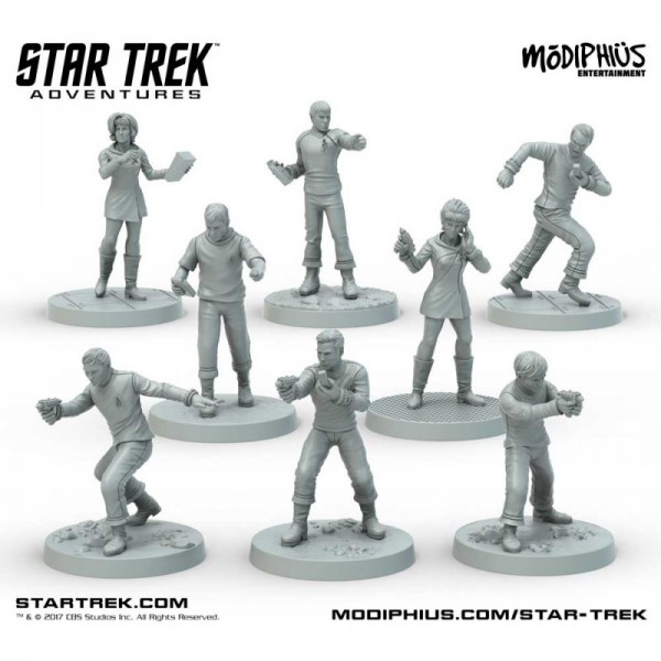 Star Trek: Star Trek Adventures: Original Series (32MM Minis Box Set)