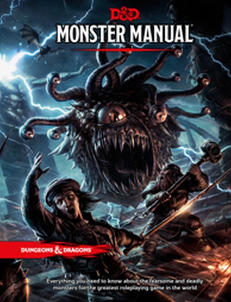 Dungeons & Dragons: Monster Manual TRPG (Hardcover)