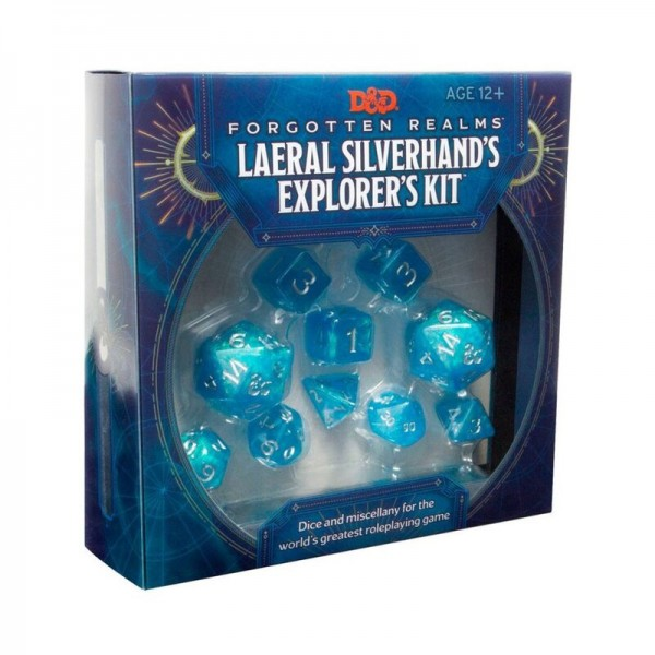 D&D Forgotten Realms: Laeral Silverhand's Explorer's Kit - Dice & Miscellany