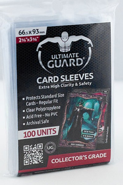 Ultimate Guard: Classic Soft Sleeves Standard-Clear (100)