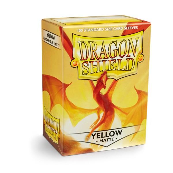 Dragon Shield: Matte – Yellow (100)
