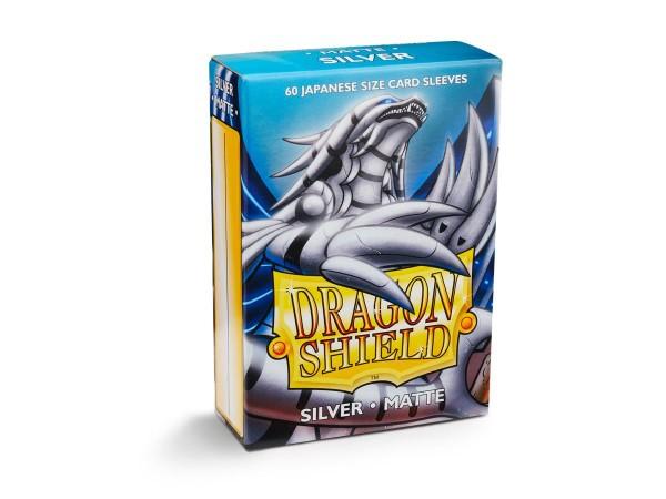 Dragon Shield: Japanese Matte – Silver (60)