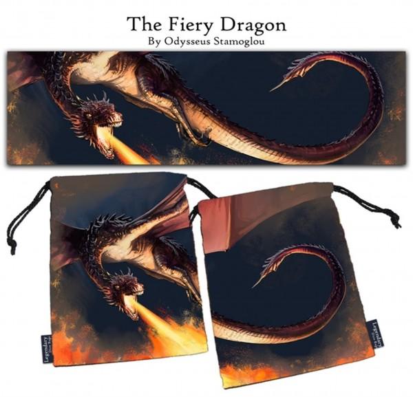 Legendary Dice Bag: The Fiery Dragon