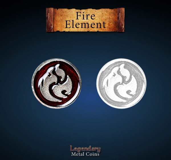 Fire Element Set (12 Stück)
