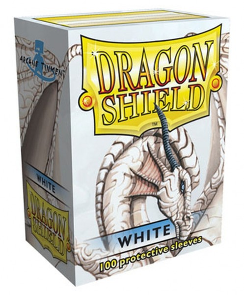 Dragon Shield: White (100)