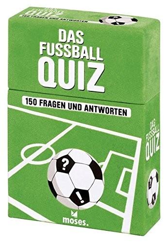 Das Fußballquiz – 150 Fragen und Antworten * Neuauflage*