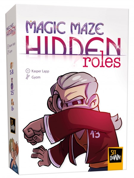 Magic Maze: Hidden Roles [Expansion]