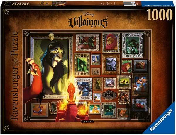 Puzzle: Villainous – Scar (1000 Teile)