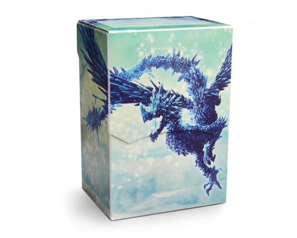 Dragon Shield: Deck Shell – Clear Blue *limited*