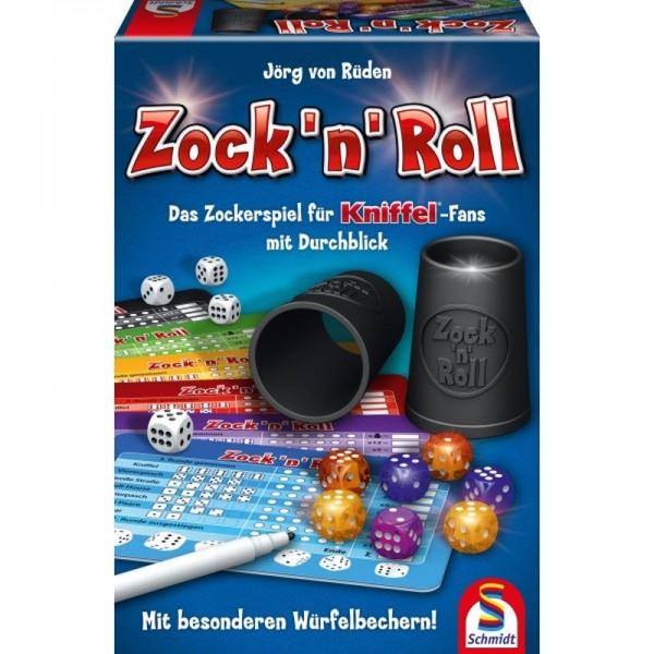 Zock 'n' Roll - Das Zockerspiel für Kniffel-Fans mit Durchblick