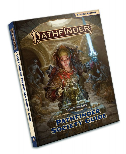 Pathfinder 2.0: Lost Omens Pathfinder Society Guide