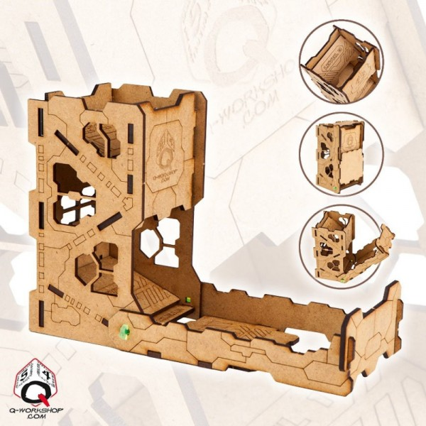 Dice Towers: Tech Dice Tower