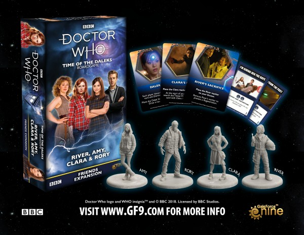 Doctor Who: Time of the Daleks [Expansion] – Companions Set 1