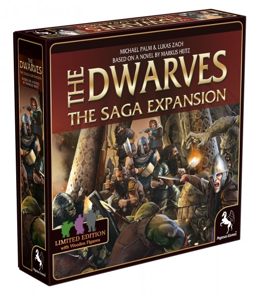 The Dwarves Saga Expansion *Limited First Printrun*