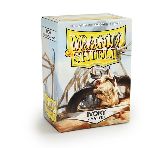 Dragon Shield: Matte – Ivory (100)