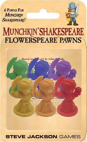 Munchkin Shakespeare Flowerspeare Pawns
