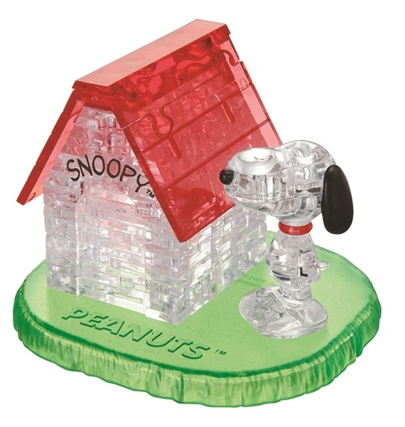 Crystal Puzzle: Snoopy House