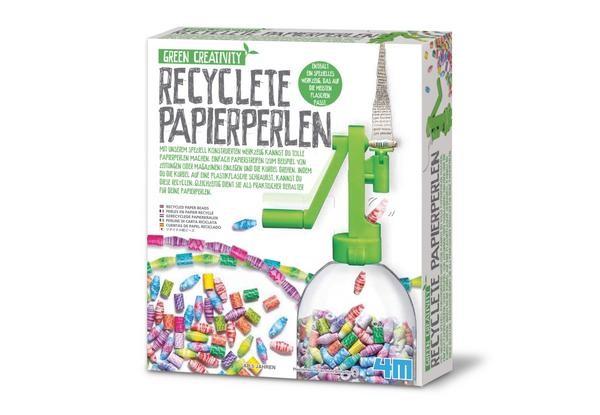 Green Creativity: Recycelte Papierperlen