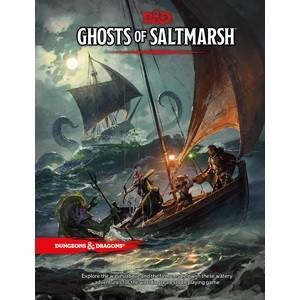 Dungeons & Dragons: Adventure Ghosts of Saltmarsh (Hardcover)