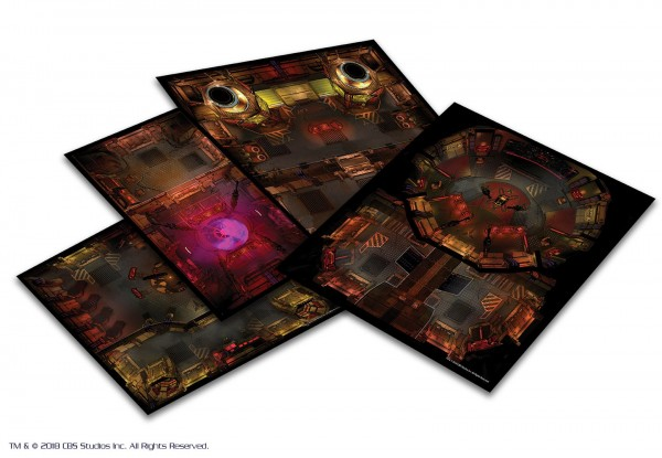 Star Trek: Star Trek Adventures: Next Generation Klingon Tile Set