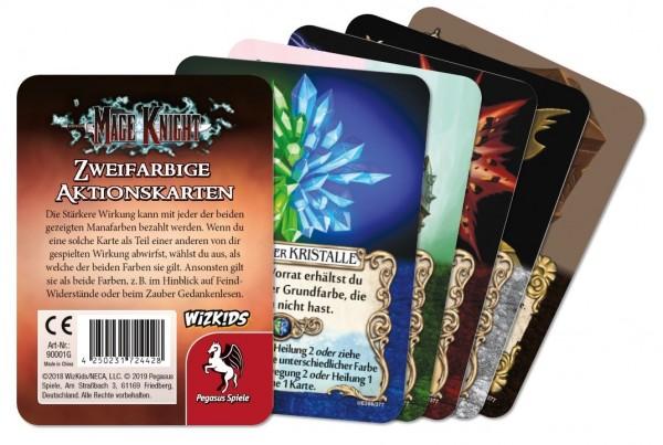 Mage Knight: Zweifarbige Aktionskarten Upgrade (5+1 Karte)