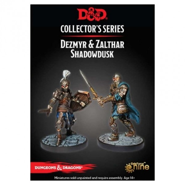D&D: Dungeon of the Mad Mage: Dezmyr & Zalthar (2 Figuren)
