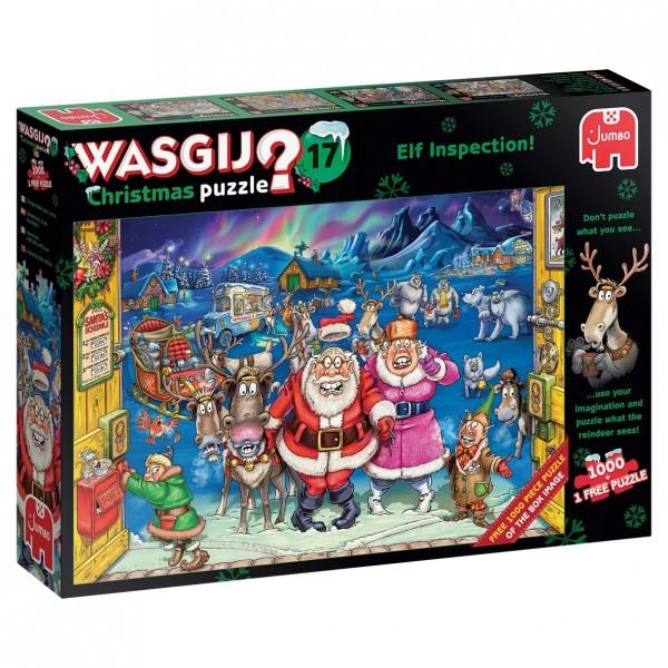 Wasgij Christmas 17: Elf Inspection! (1000 Teile)
