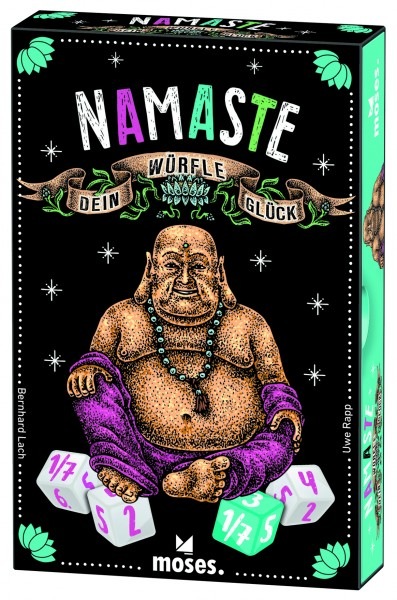Namaste – Würfle dein Glück