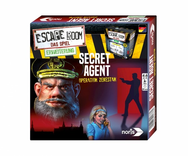 Escape Room: Secret Agent [Erweiterung]