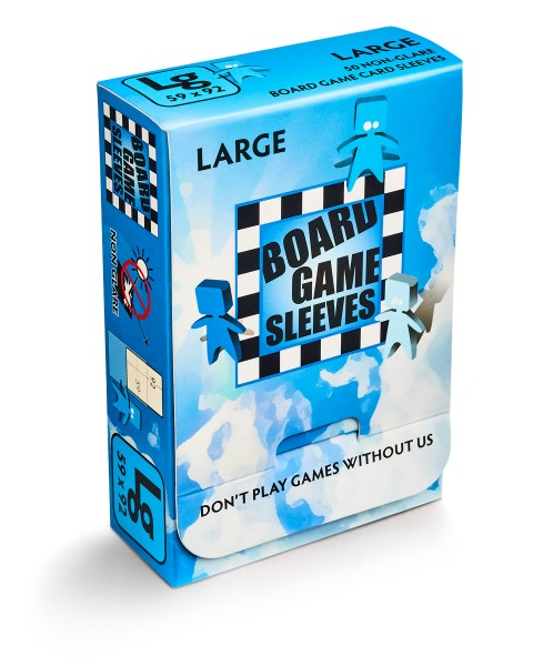 Board Game Sleeves: Large – Non Glare (50)