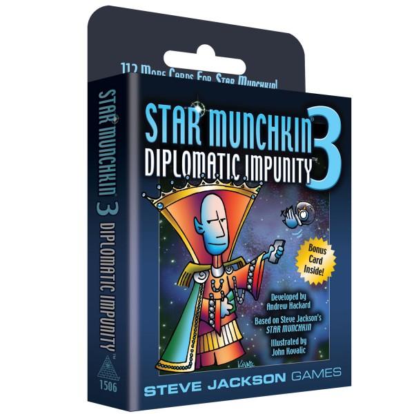 Star Munchkin 3: Diplomatic Impunity (englische Ausgabe)