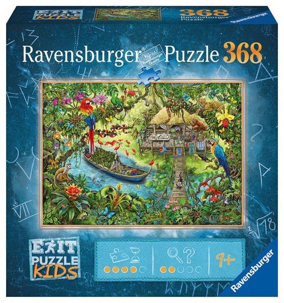 EXIT Puzzle Kids: Die Dschungelexpedition (368 Teile)